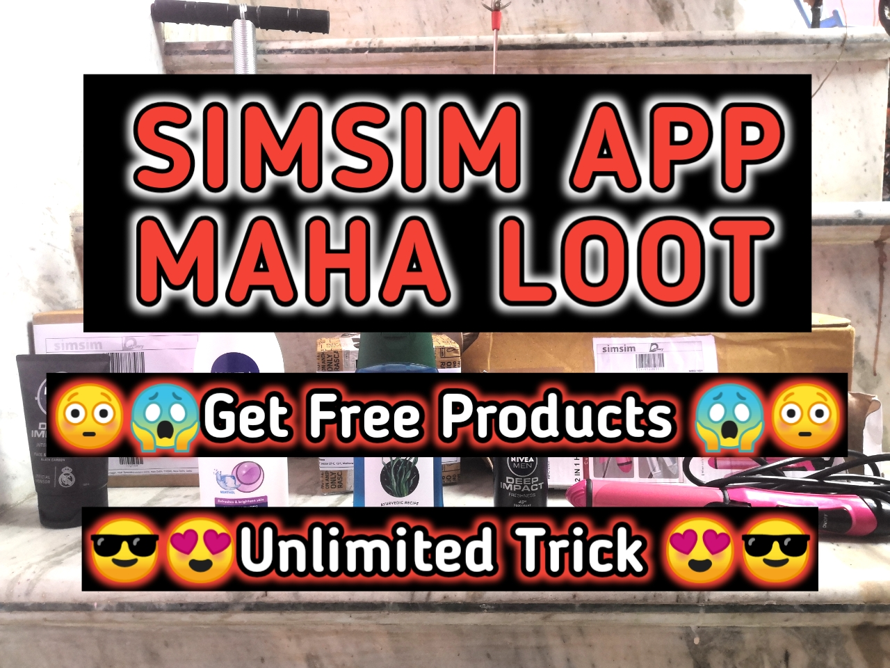 simsim app big loot