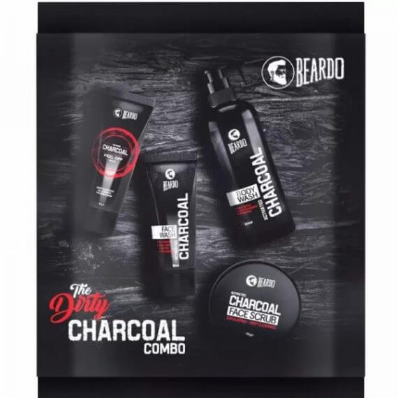 Beardo The Dirty Charcoal Combo Set of 1 in nepal