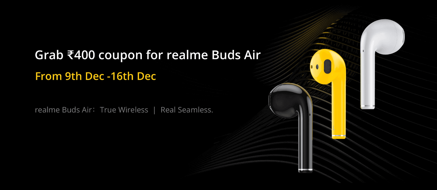 realme air buds true coupon min