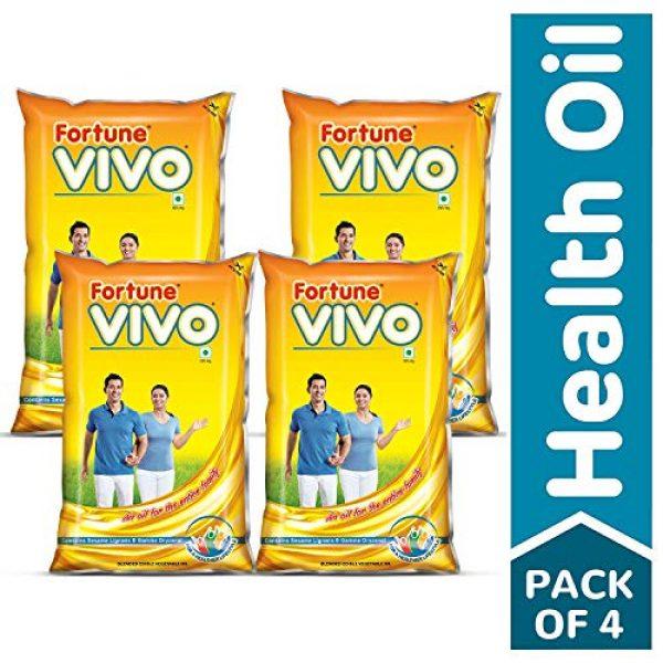 fortune vivo oil 1 l pack of 4