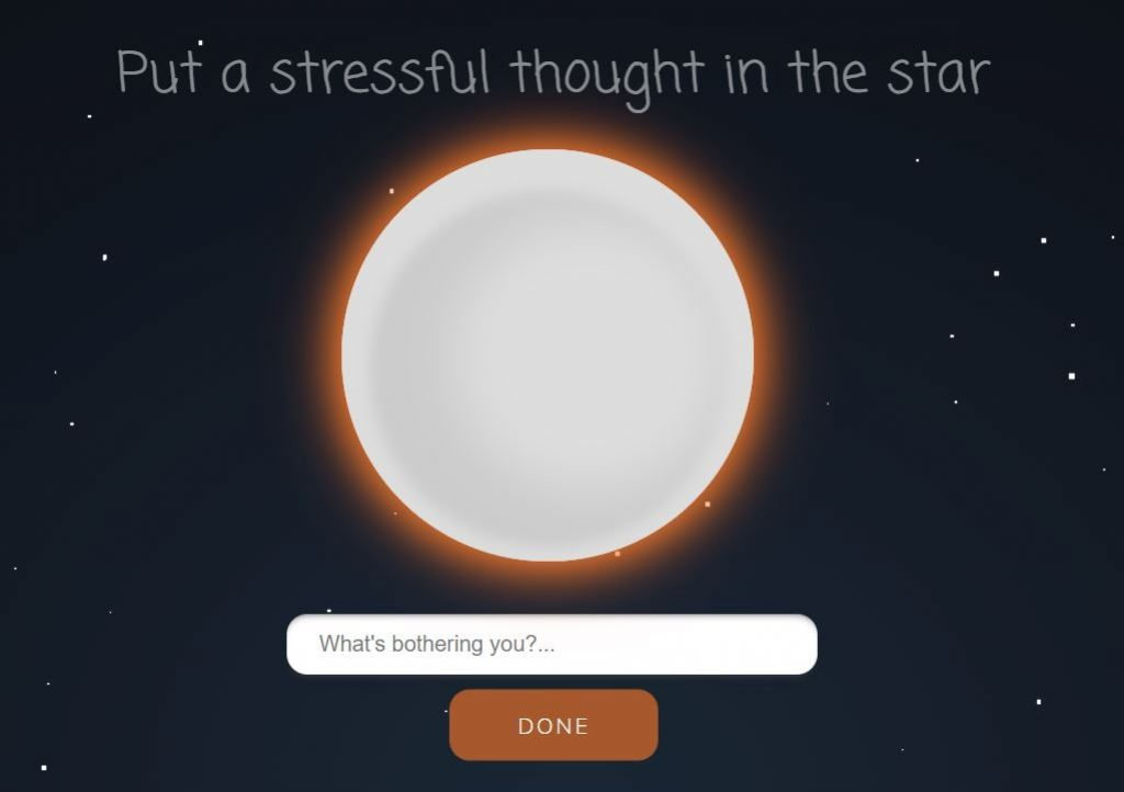 pixel thought is the best stress buster