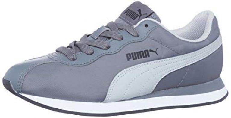 puma unisex turin ii nl jr castlerock high rise sneakers 5 uk 38 eu 6 kids