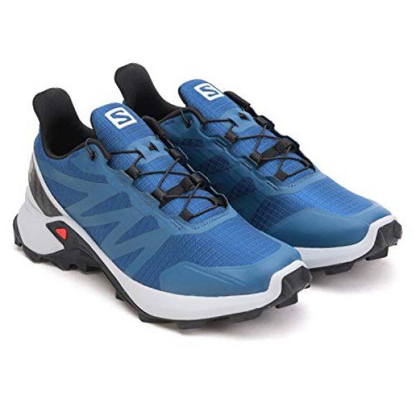 salomon supercross trail running shoe for menblue