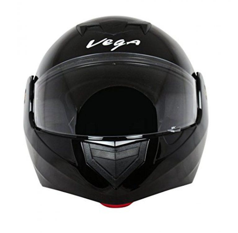 vega crux dx flip up helmet black l