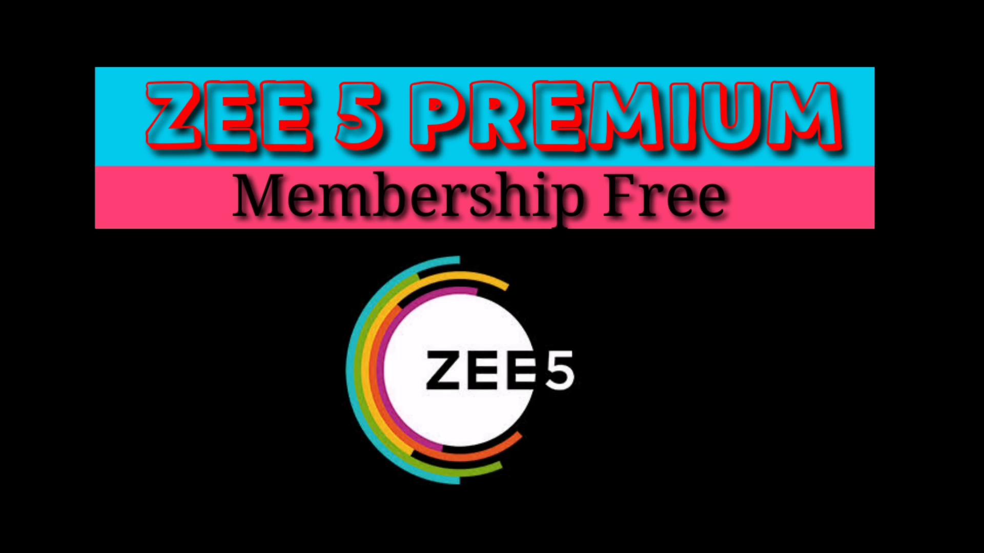 Zee5 Membersip Free @ whypayfull