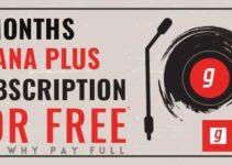 gaana subcription free