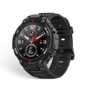 huami amazfit t-rex smart watch - whypayfull.in-min