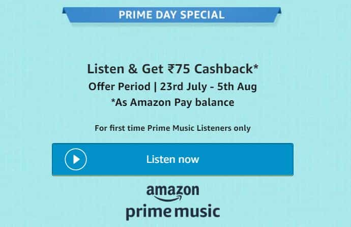 Amazon Prime Membership - Amazon Prime Music Offer
