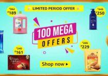 Amazon Pantry Cashback offers