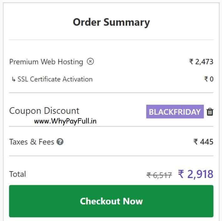 Hostinger Black Friday Sale Coupon - Domain and Hosting Sale