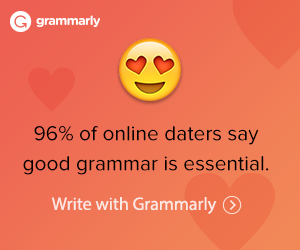 Online Daters Write with Grammarly