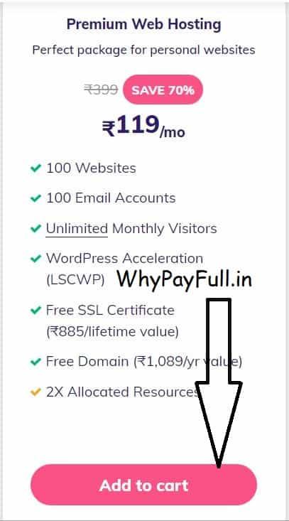 Free Domain with Hosting Premium Web Hosting