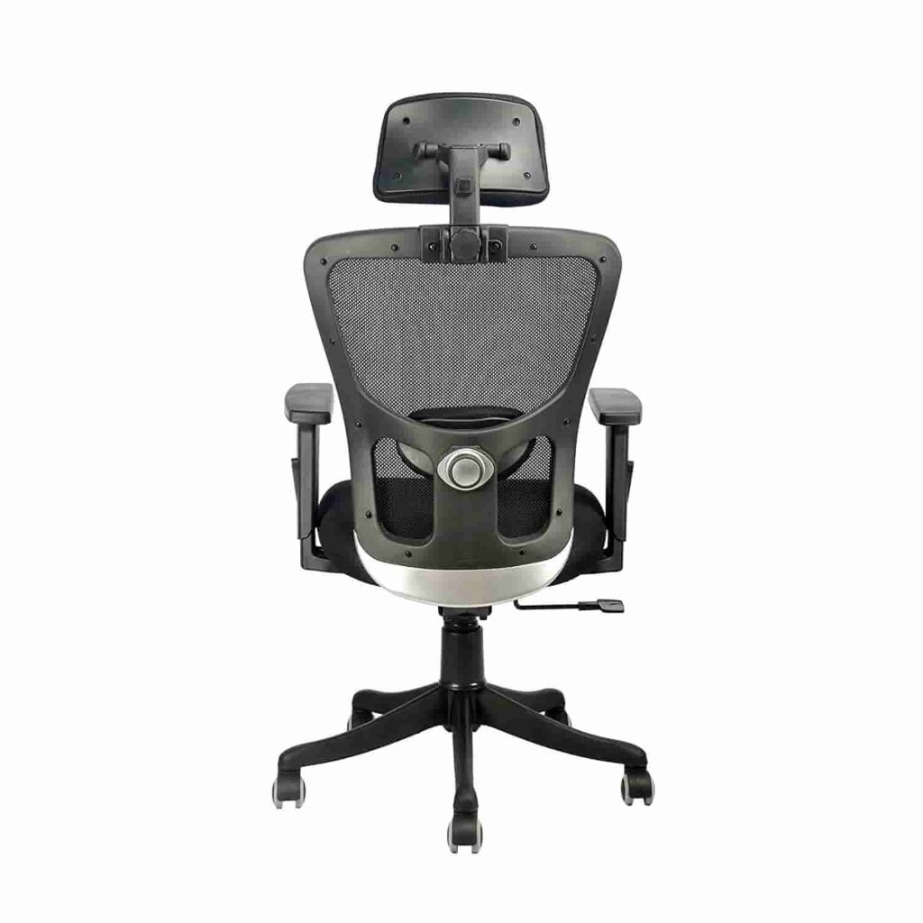 INNOWIN® Jazz High Back Mesh Office Chair Black for Office Home min
