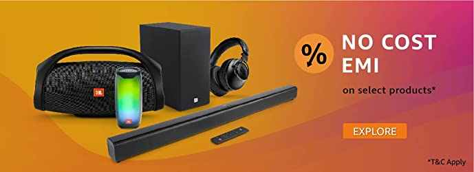 JBL Music Days Headphones and Speakers No Cost EMI