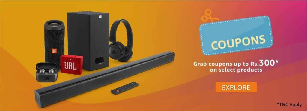 JBL Music Days Headphones and Speakers Coupons