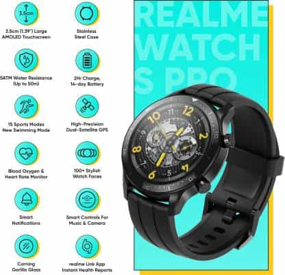 Realme Watch S Pro features
