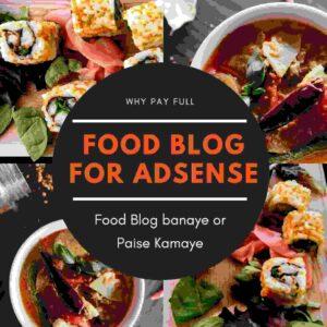 Food Blog - Best Blog for Adsense