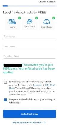 IND Money App Auto Track 1