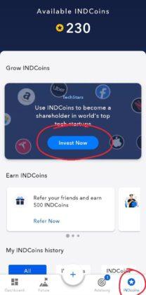 Invest Now on IND Money APP